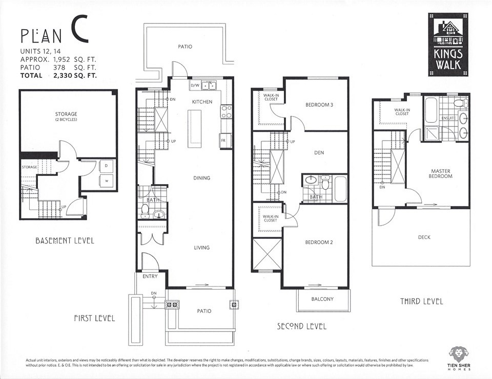 Townhouse at 12 244 E 5TH STREET, Unit 12, North Vancouver, British Columbia. Image 3
