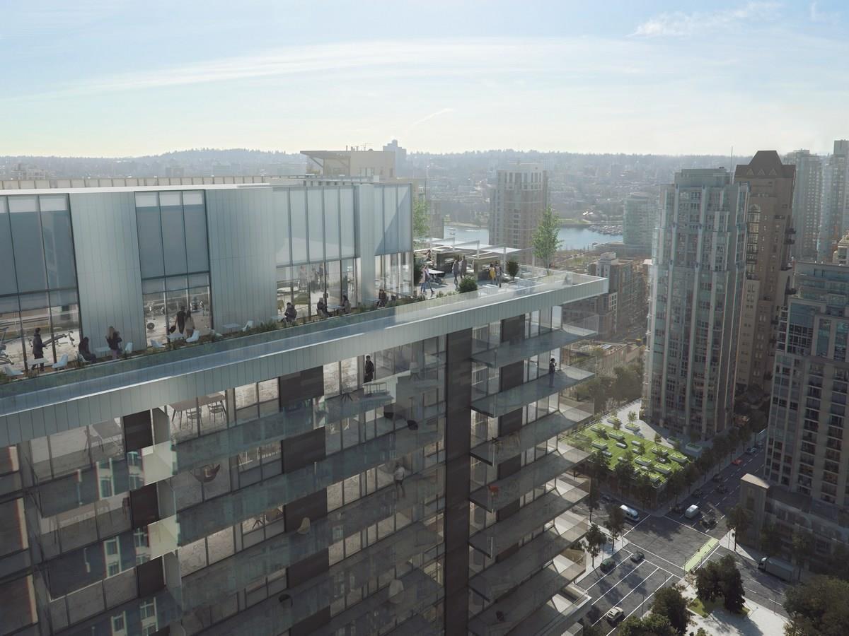 Condo Apartment at 1408 1111 RICHARDS STREET, Unit 1408, Vancouver West, British Columbia. Image 5