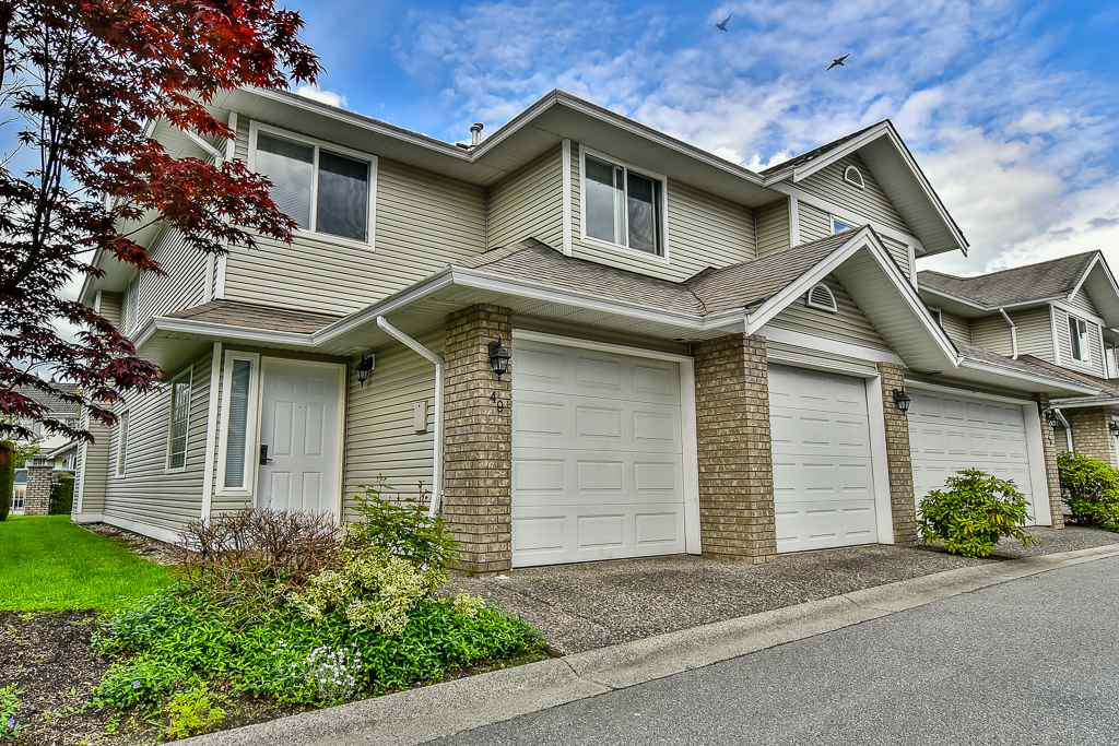 Townhouse at 49 1370 RIVERWOOD GATE, Unit 49, Port Coquitlam, British Columbia. Image 1