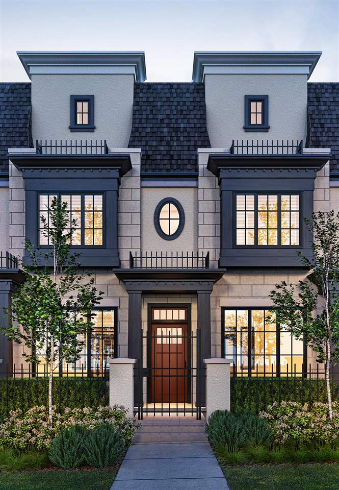 Townhouse at 11 1508 W 57TH AVENUE, Unit 11, Vancouver West, British Columbia. Image 2