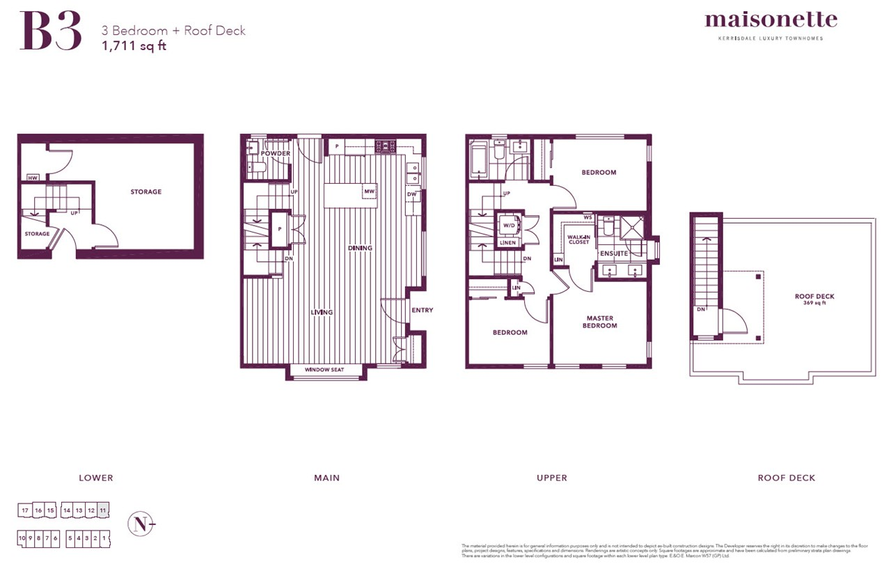 Townhouse at 11 1508 W 57TH AVENUE, Unit 11, Vancouver West, British Columbia. Image 4