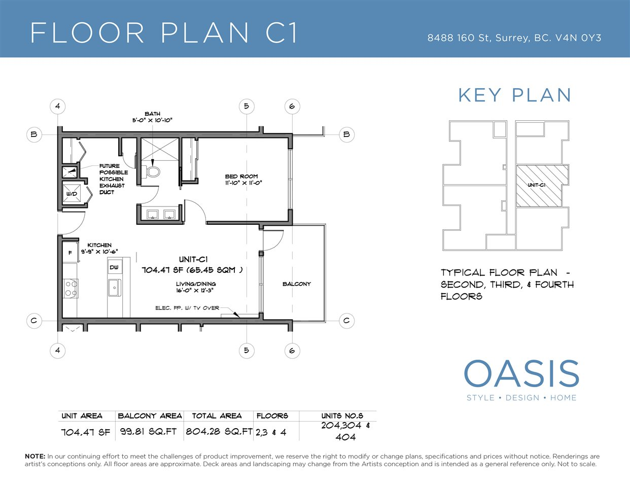 Condo Apartment at 203 8488 160 STREET, Unit 203, Surrey, British Columbia. Image 2