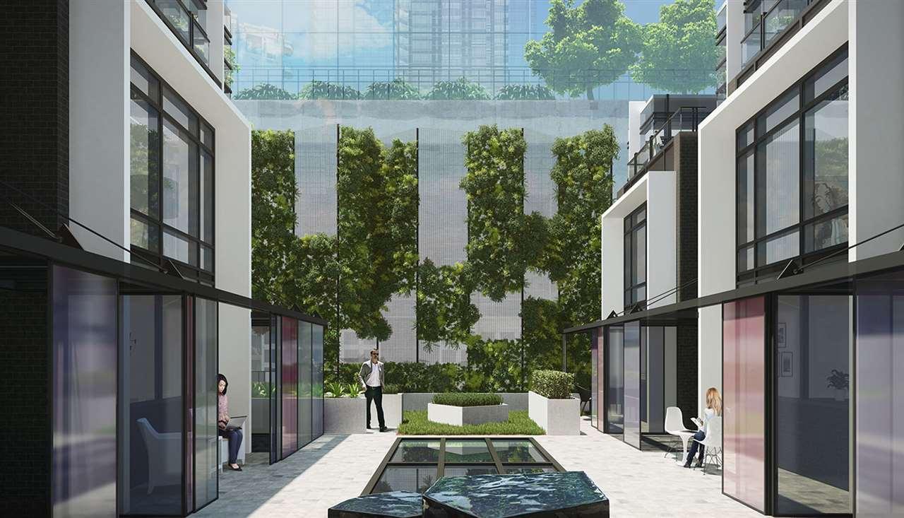Condo Apartment at 1207 1283 HOWE STREET, Unit 1207, Vancouver West, British Columbia. Image 6