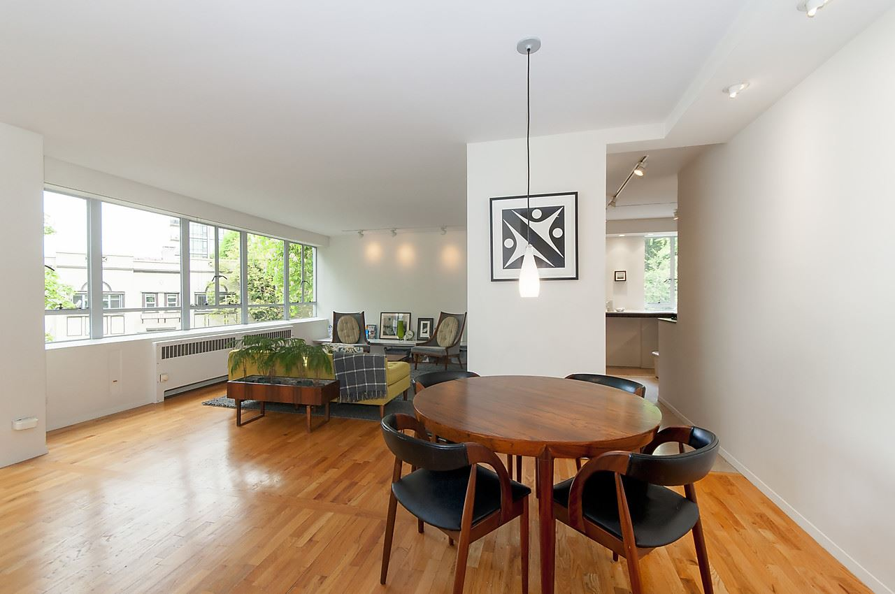 Condo Apartment at 218 1445 MARPOLE AVENUE, Unit 218, Vancouver West, British Columbia. Image 1