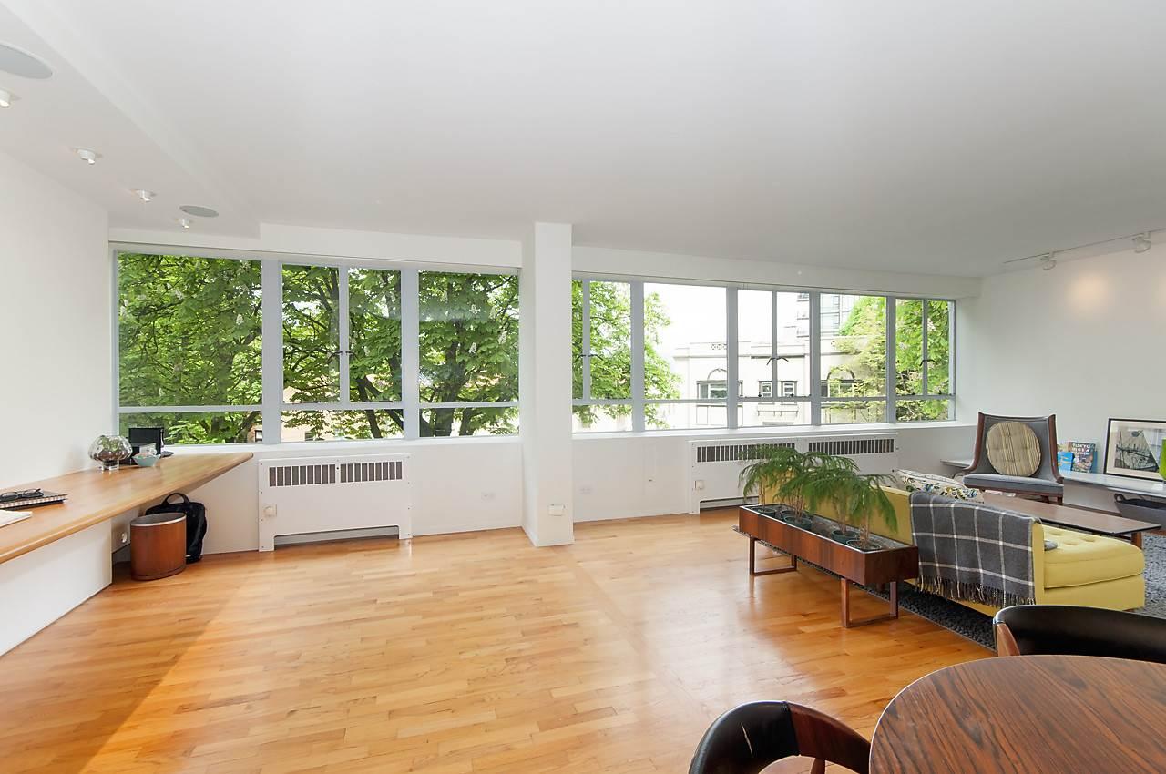 Condo Apartment at 218 1445 MARPOLE AVENUE, Unit 218, Vancouver West, British Columbia. Image 4