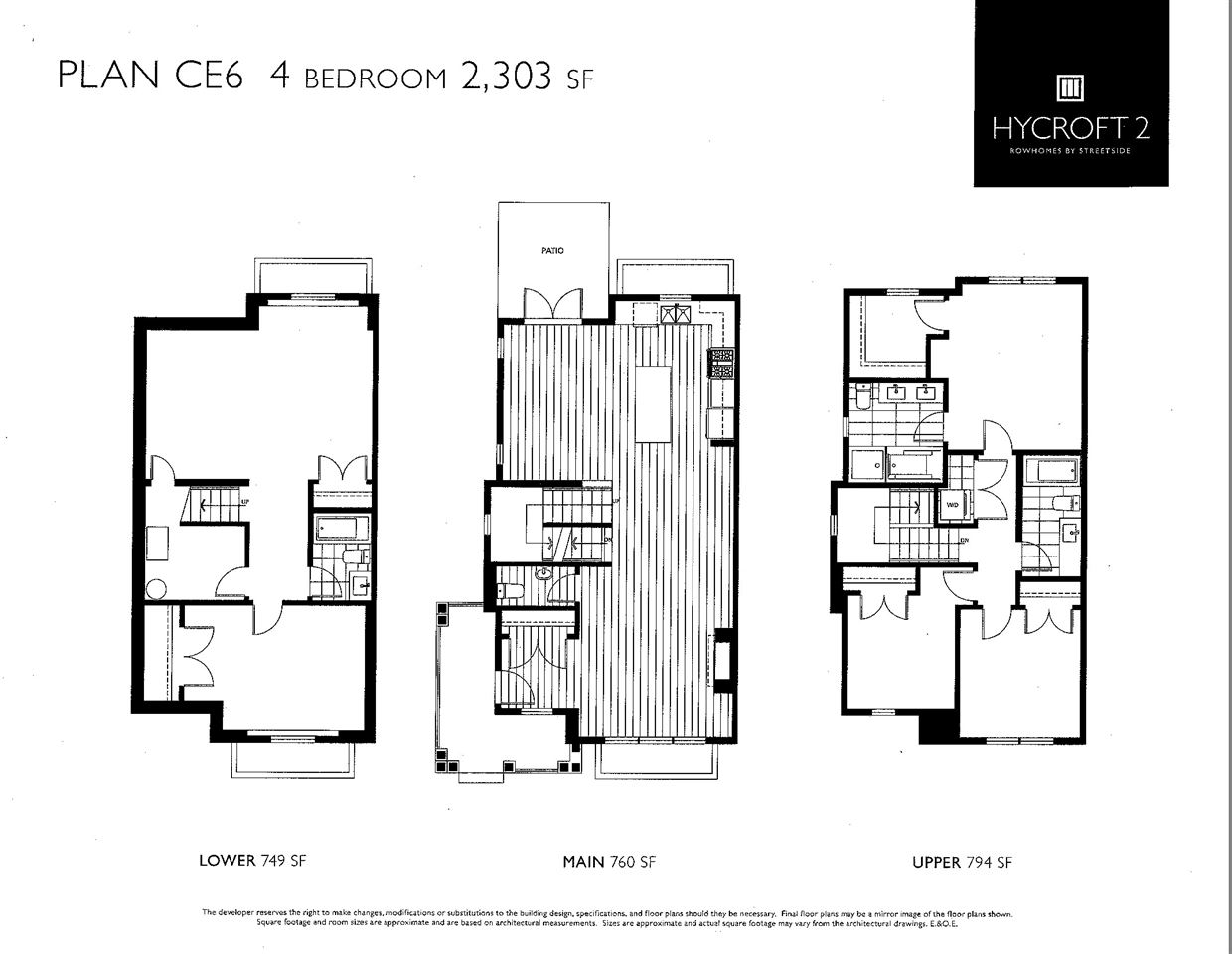 Townhouse at 16485 24 AVENUE, South Surrey White Rock, British Columbia. Image 3