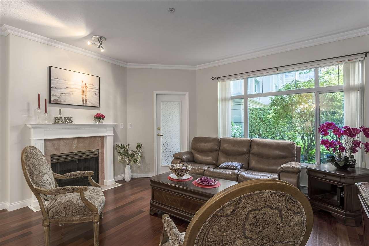 Condo Apartment at 113 5735 HAMPTON PLACE, Unit 113, Vancouver West, British Columbia. Image 3