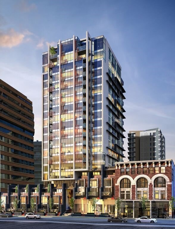 Condo Apartment at 1308 1133 HORNBY STREET, Unit 1308, Vancouver West, British Columbia. Image 1