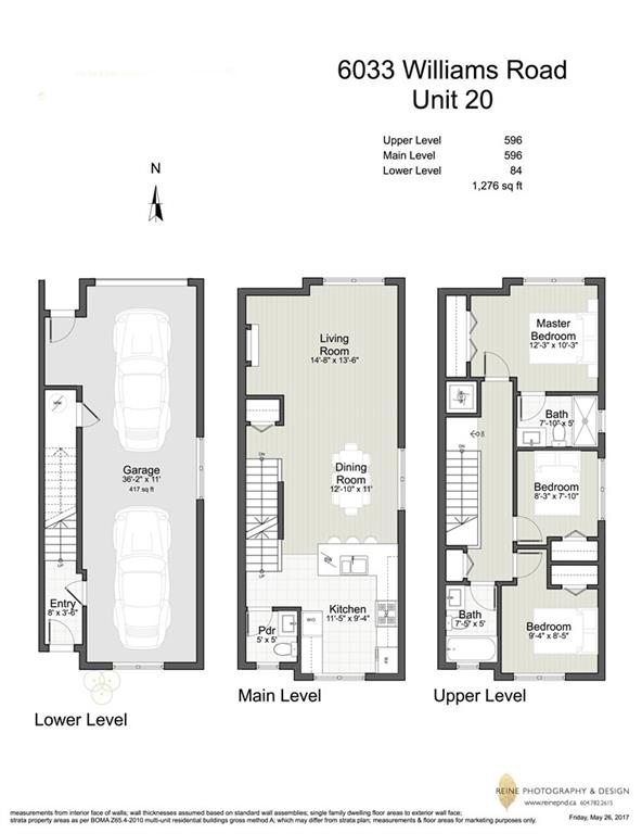 Townhouse at 20 6033 WILLIAMS ROAD, Unit 20, Richmond, British Columbia. Image 15