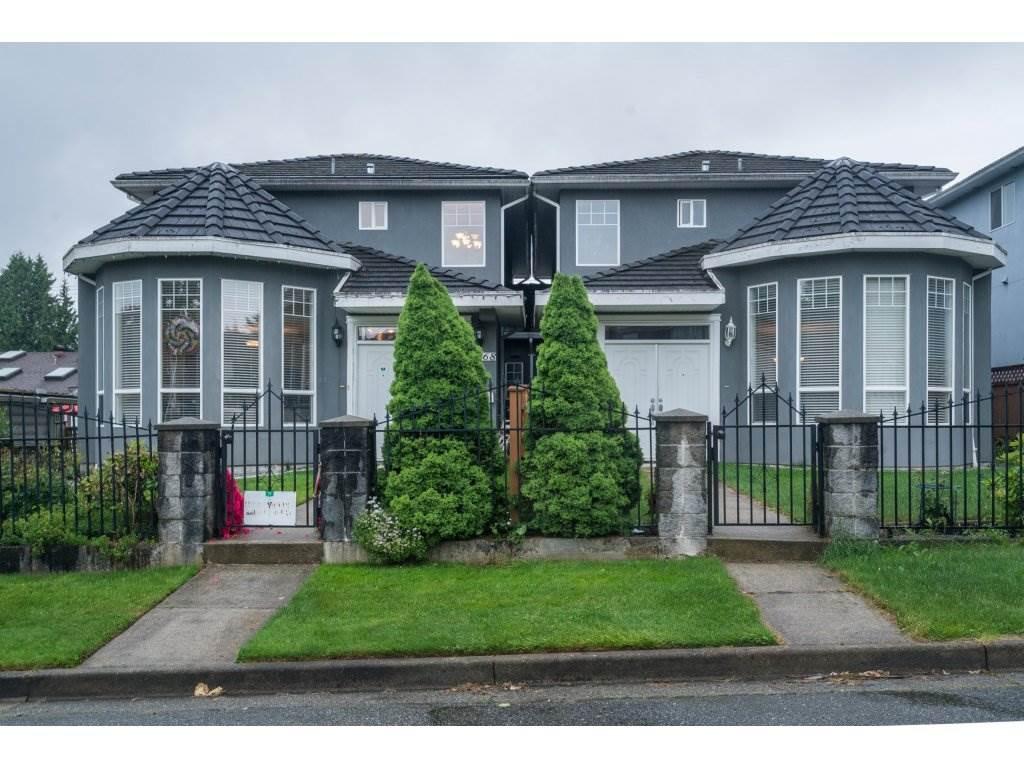 Half-duplex at 7968 WEDGEWOOD STREET, Burnaby South, British Columbia. Image 1