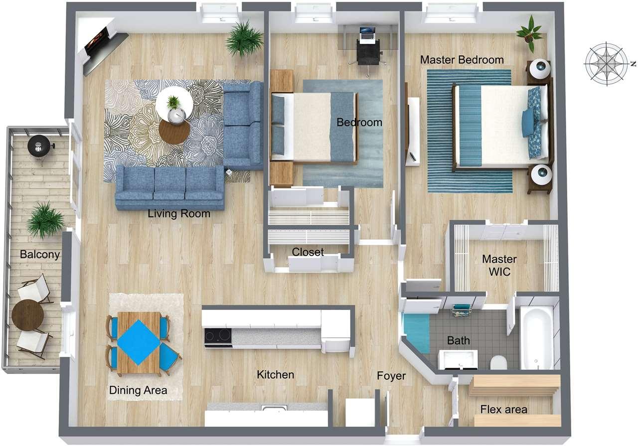 Condo Apartment at 415 9672 134 STREET, Unit 415, North Surrey, British Columbia. Image 1