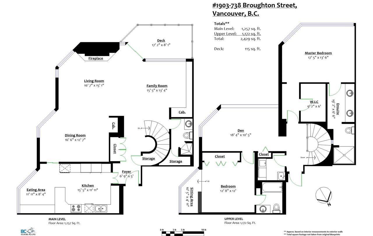 Condo Apartment at 1903 738 BROUGHTON STREET, Unit 1903, Vancouver West, British Columbia. Image 20
