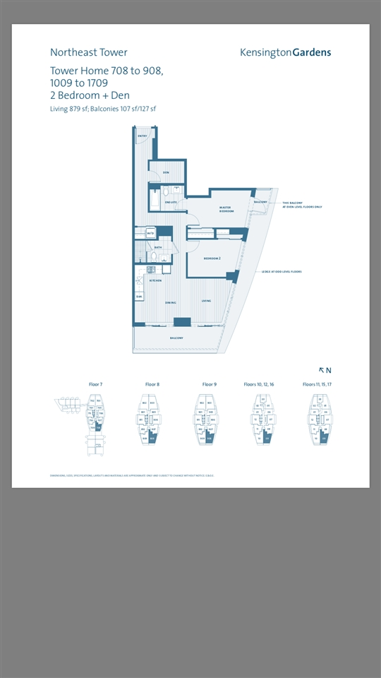 Condo Apartment at 1209 2220 KINGSWAY STREET, Unit 1209, Vancouver East, British Columbia. Image 2