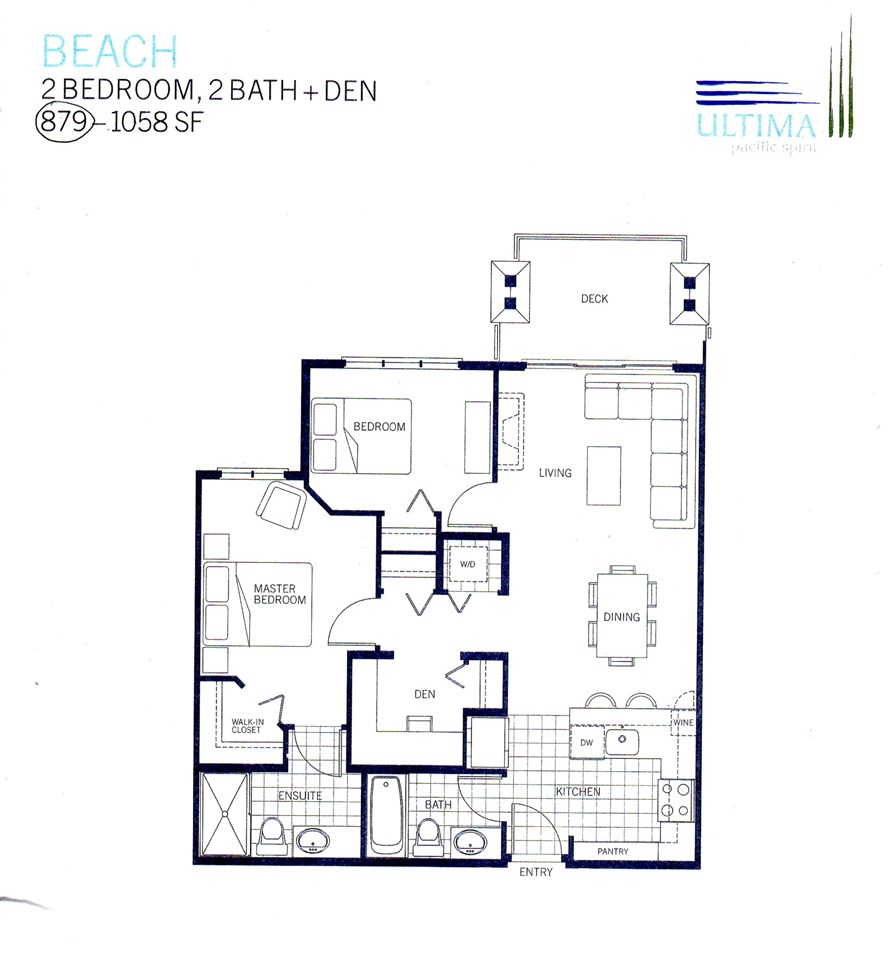 Condo Apartment at 102 3479 WESBROOK MALL, Unit 102, Vancouver West, British Columbia. Image 20