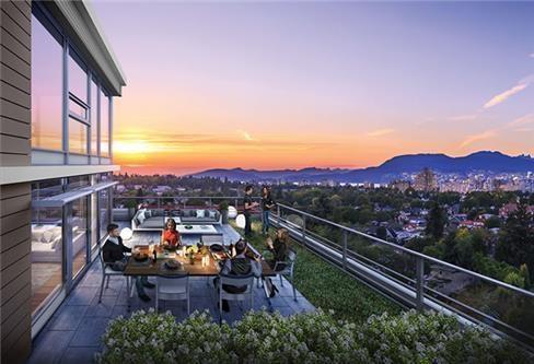 Condo Apartment at 901 4083 CAMBIE STREET, Unit 901, Vancouver West, British Columbia. Image 3