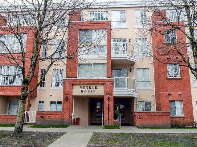 Condo Apartment at 206 3621 W 26TH AVENUE, Unit 206, Vancouver West, British Columbia. Image 1