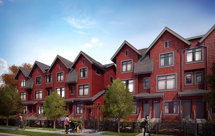 Townhouse at 12 5809 WALES STREET, Unit 12, Vancouver East, British Columbia. Image 4
