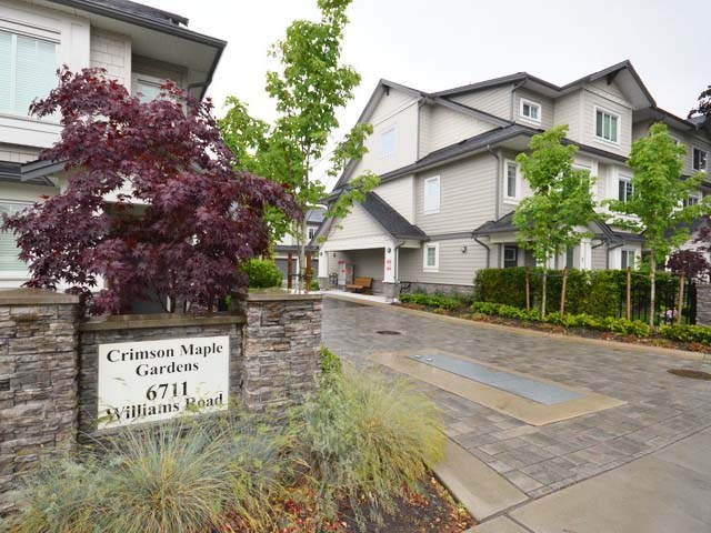 Townhouse at 13 6711 WILLIAMS ROAD, Unit 13, Richmond, British Columbia. Image 2