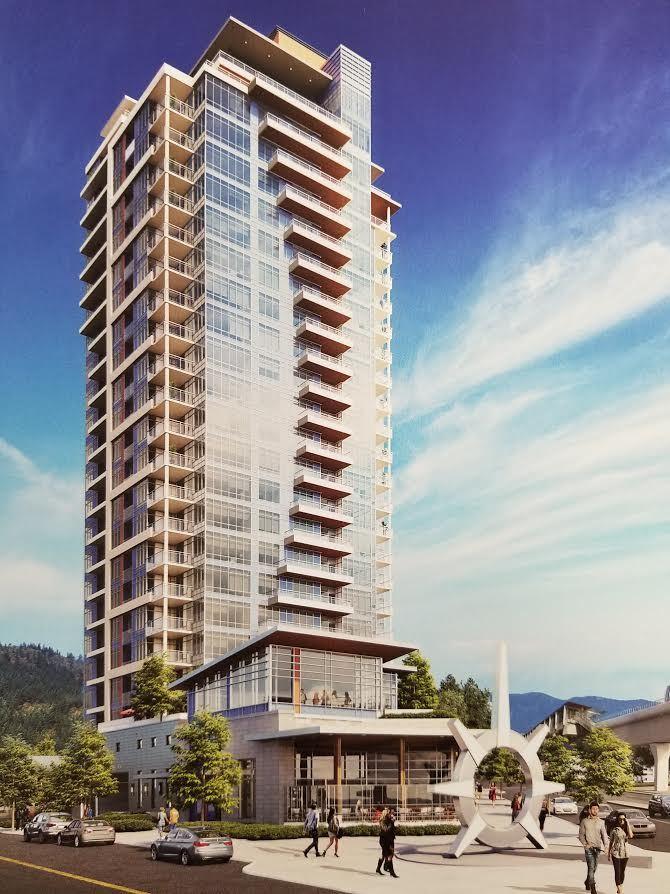 Condo Apartment at 1408 509&513 CLARKE ROAD, Unit 1408, Coquitlam, British Columbia. Image 1
