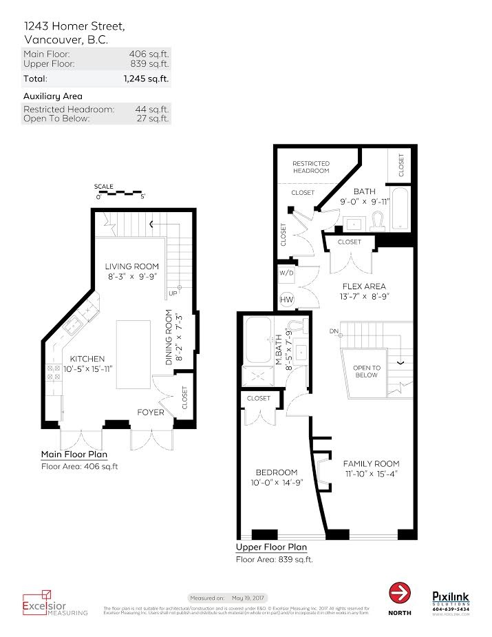Townhouse at 1243 HOMER STREET, Vancouver West, British Columbia. Image 20