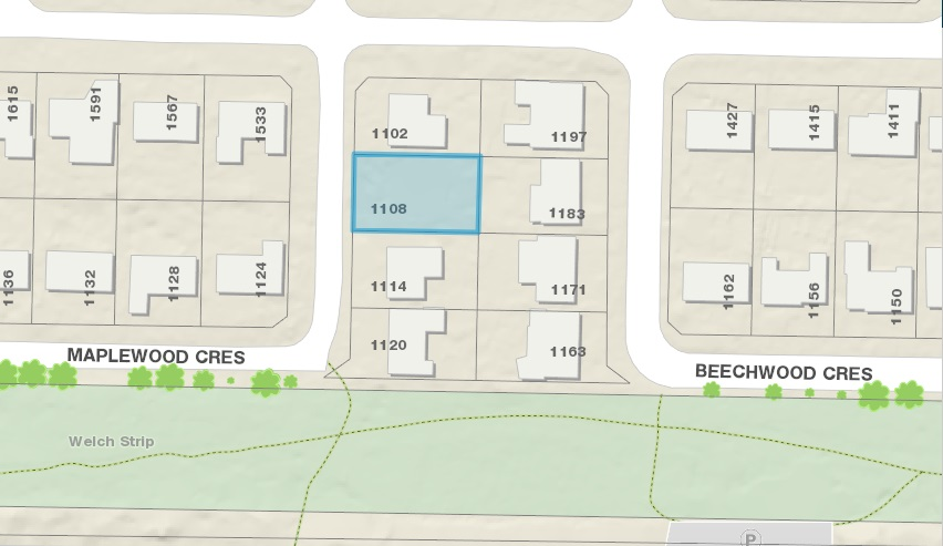 Vacant Land at 1108 MAPLEWOOD CRESCENT, North Vancouver, British Columbia. Image 4