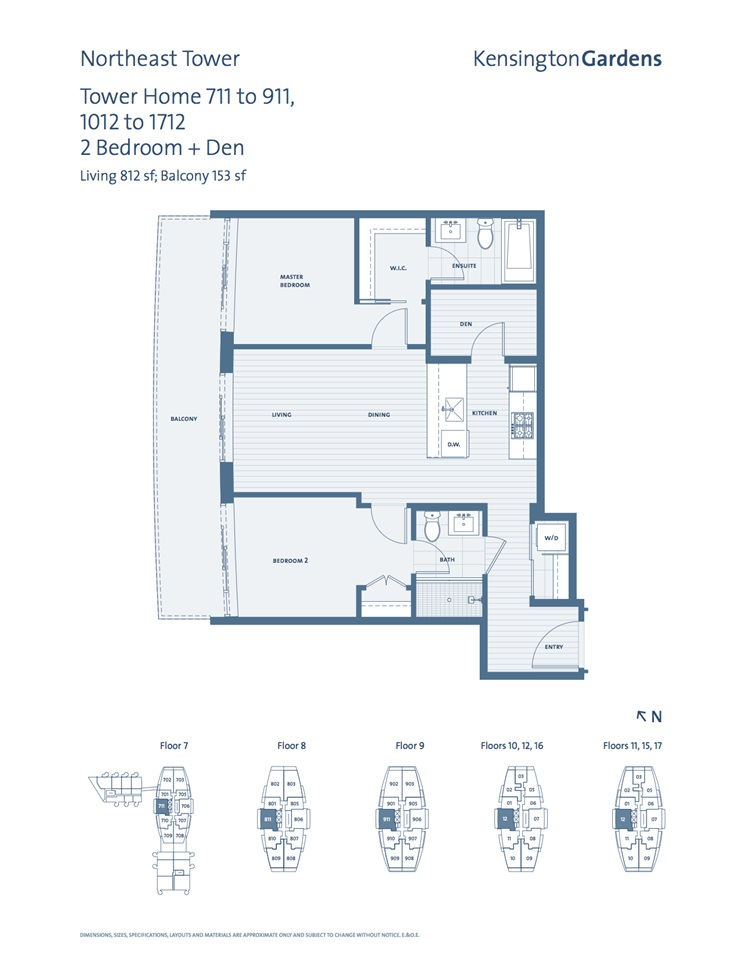 Condo Apartment at 1012 2220 KINGSWAY, Unit 1012, Vancouver East, British Columbia. Image 9