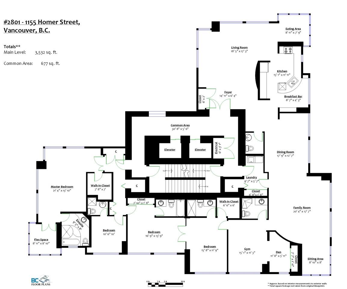 Condo Apartment at 2801 1155 HOMER STREET, Unit 2801, Vancouver West, British Columbia. Image 2