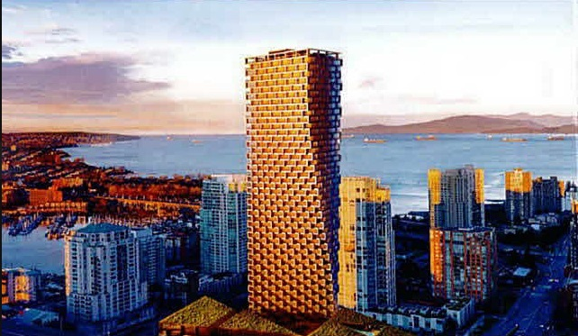 Condo Apartment at 2611 1480 HOWE STREET, Unit 2611, Vancouver West, British Columbia. Image 1