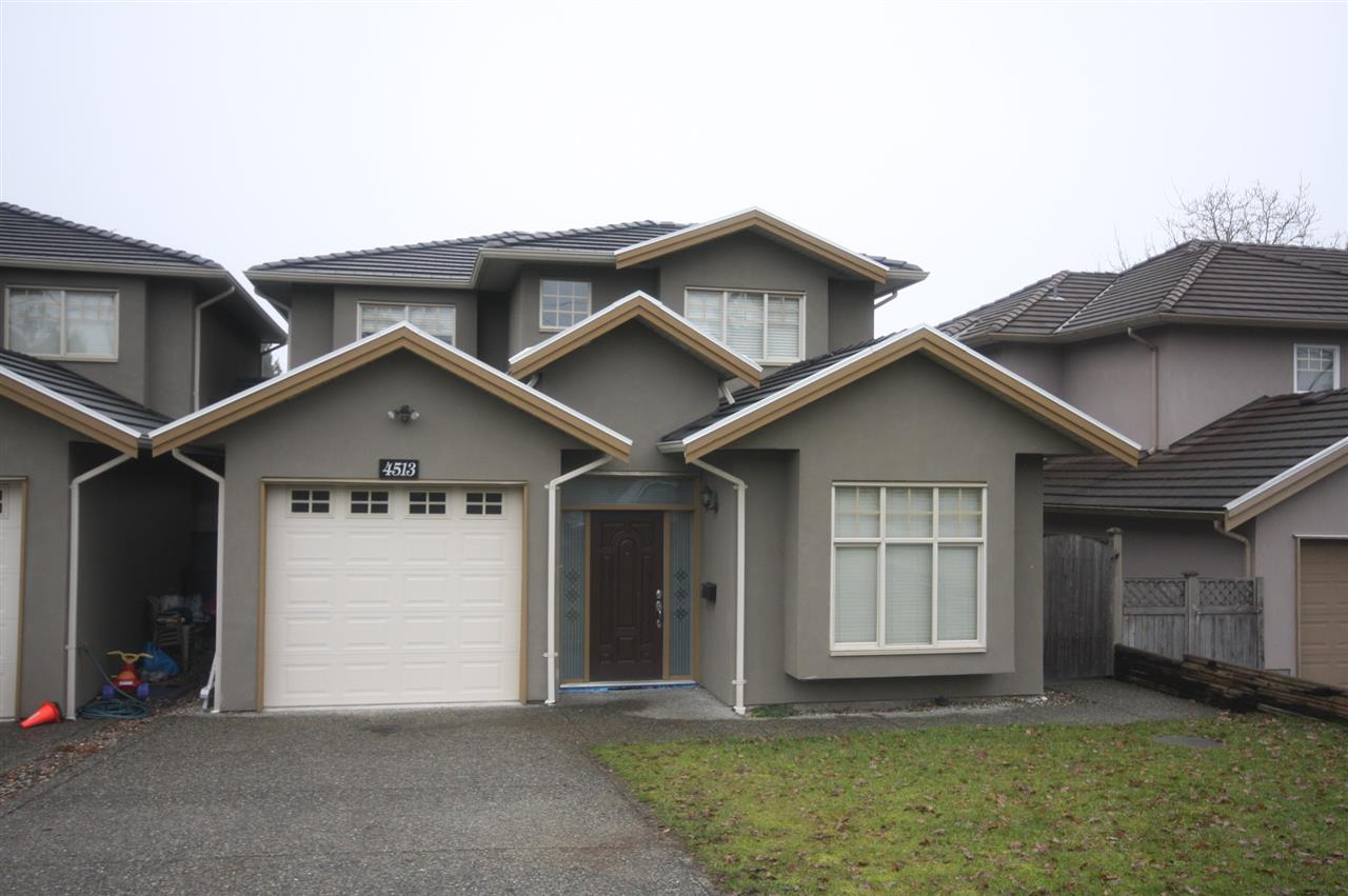 Half-duplex at 4513 ELLERTON COURT, Burnaby South, British Columbia. Image 1