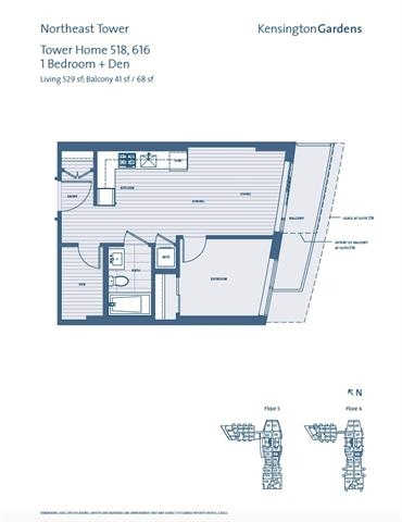 Condo Apartment at 518 2220 KINGSWAY, Unit 518, Vancouver East, British Columbia. Image 11