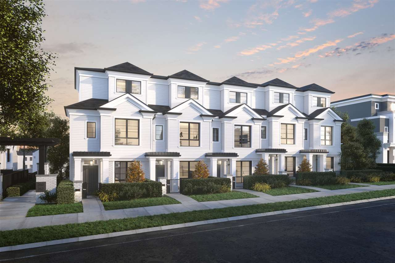Townhouse at 7801 MANITOBA STREET, Vancouver West, British Columbia. Image 1