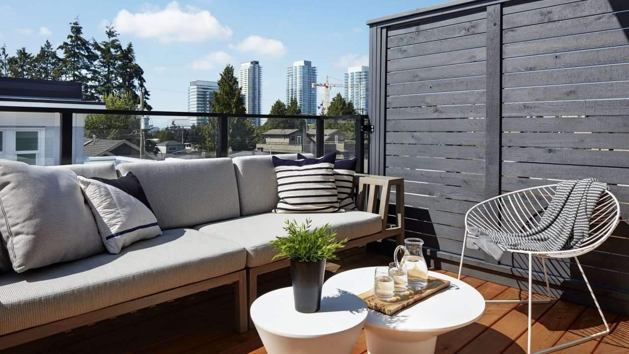 Townhouse at 7801 MANITOBA STREET, Vancouver West, British Columbia. Image 4