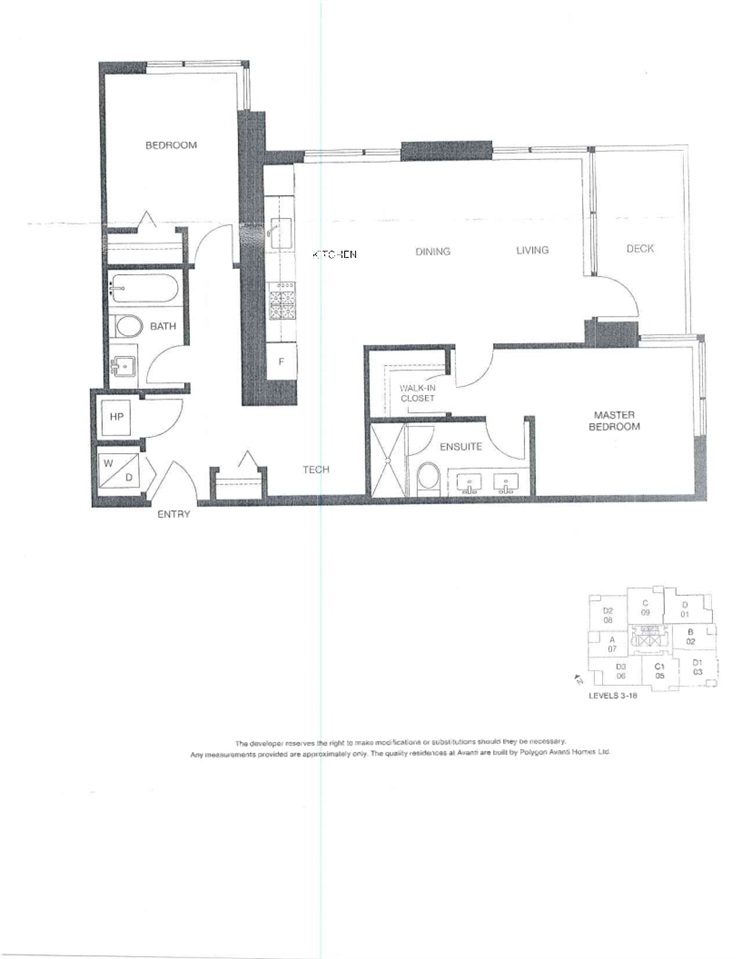 Condo Apartment at B1101 3331 BROWN ROAD, Unit B1101, Richmond, British Columbia. Image 2