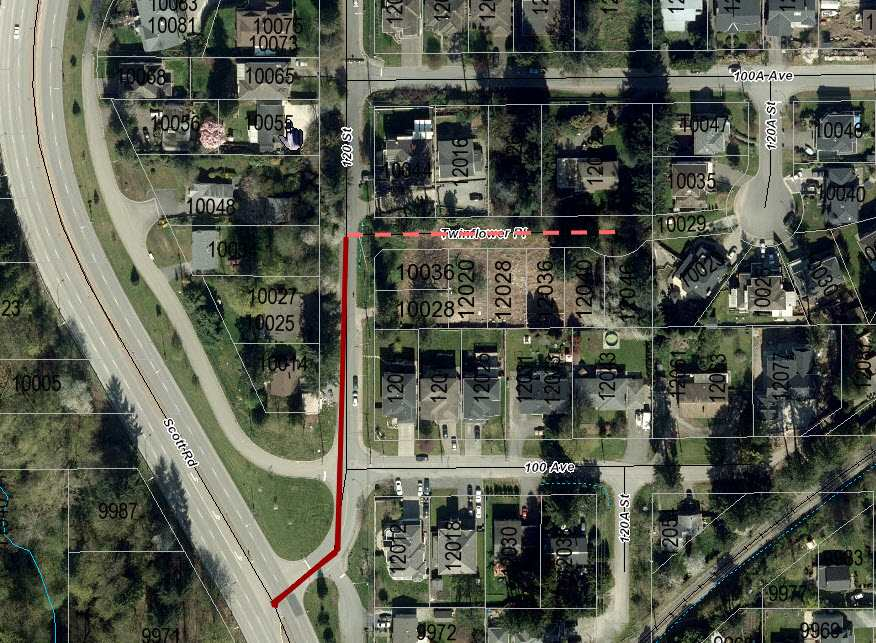 Vacant Land at 12046 TWINFLOWER PLACE, North Surrey, British Columbia. Image 2
