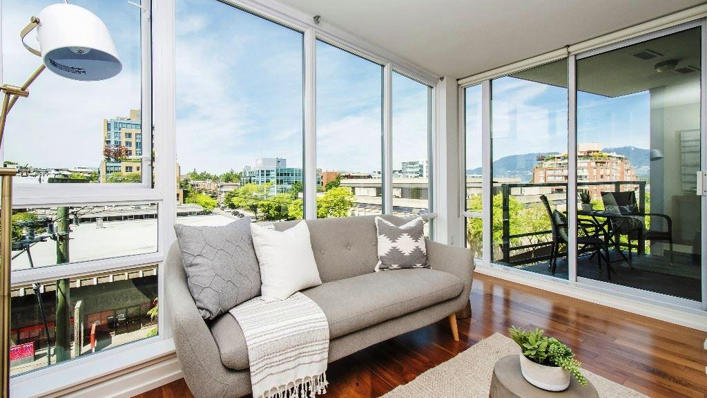Condo Apartment at 503 1690 W 8TH AVENUE, Unit 503, Vancouver West, British Columbia. Image 4