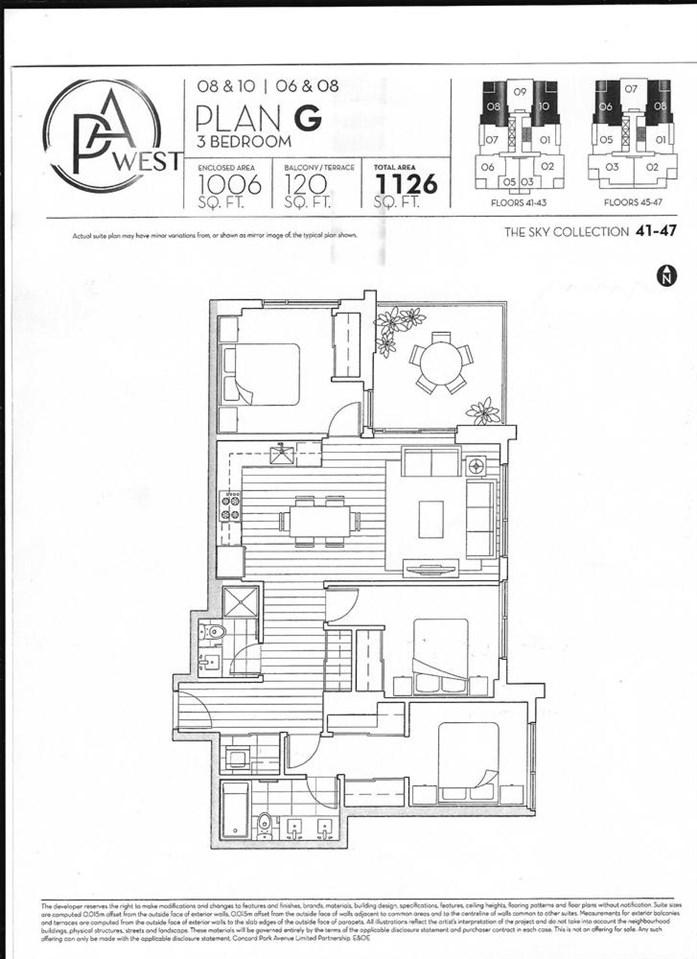 Condo Apartment at 4308 13696 100TH AVENUE, Unit 4308, North Surrey, British Columbia. Image 6