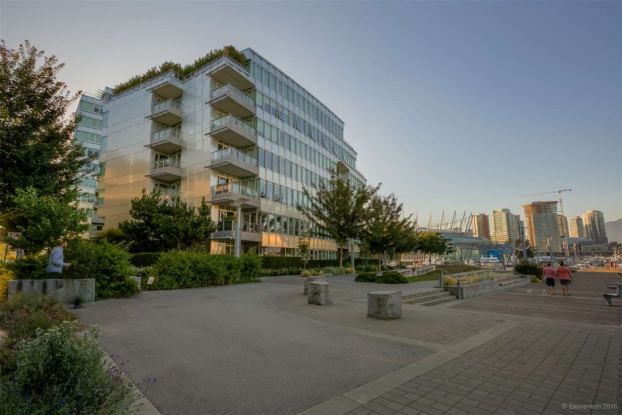 Condo Apartment at 102 151 ATHLETES WAY, Unit 102, Vancouver West, British Columbia. Image 1