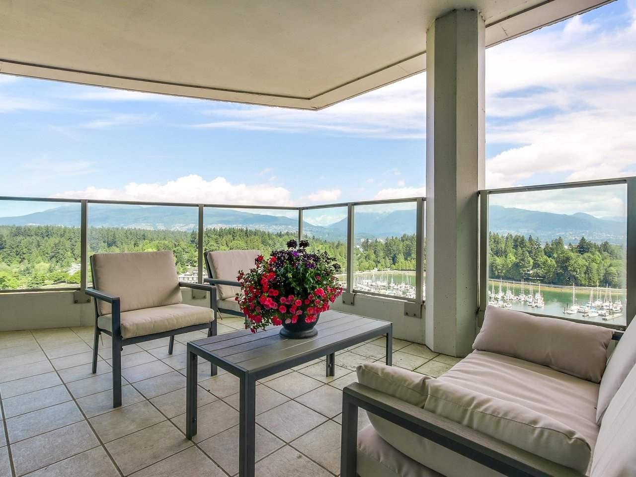 Condo Apartment at PH2 1777 BAYSHORE DRIVE, Unit PH2, Vancouver West, British Columbia. Image 4