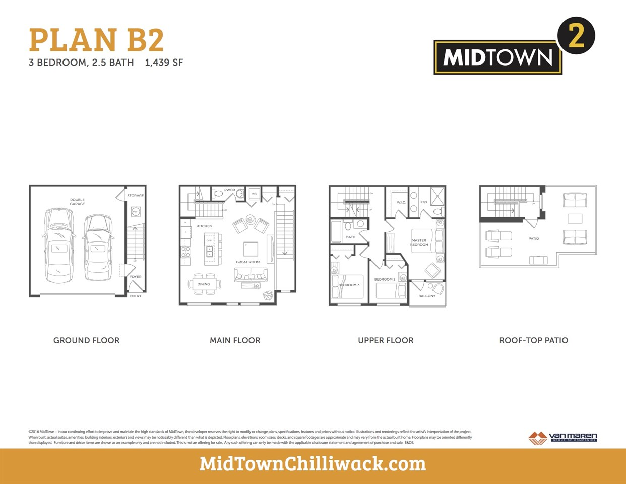 Townhouse at 8 8466 MIDTOWN WAY, Unit 8, Chilliwack, British Columbia. Image 3