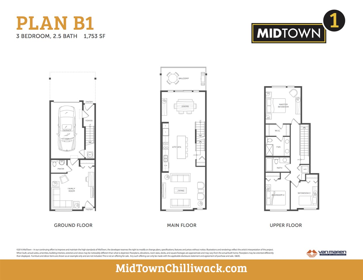 Townhouse at 16 8413 MIDTOWN WAY, Unit 16, Chilliwack, British Columbia. Image 2