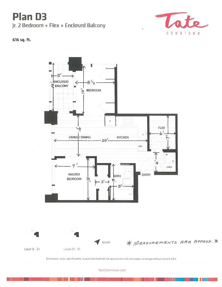 Condo Apartment at 804 1283 HOWE STREET, Unit 804, Vancouver West, British Columbia. Image 1