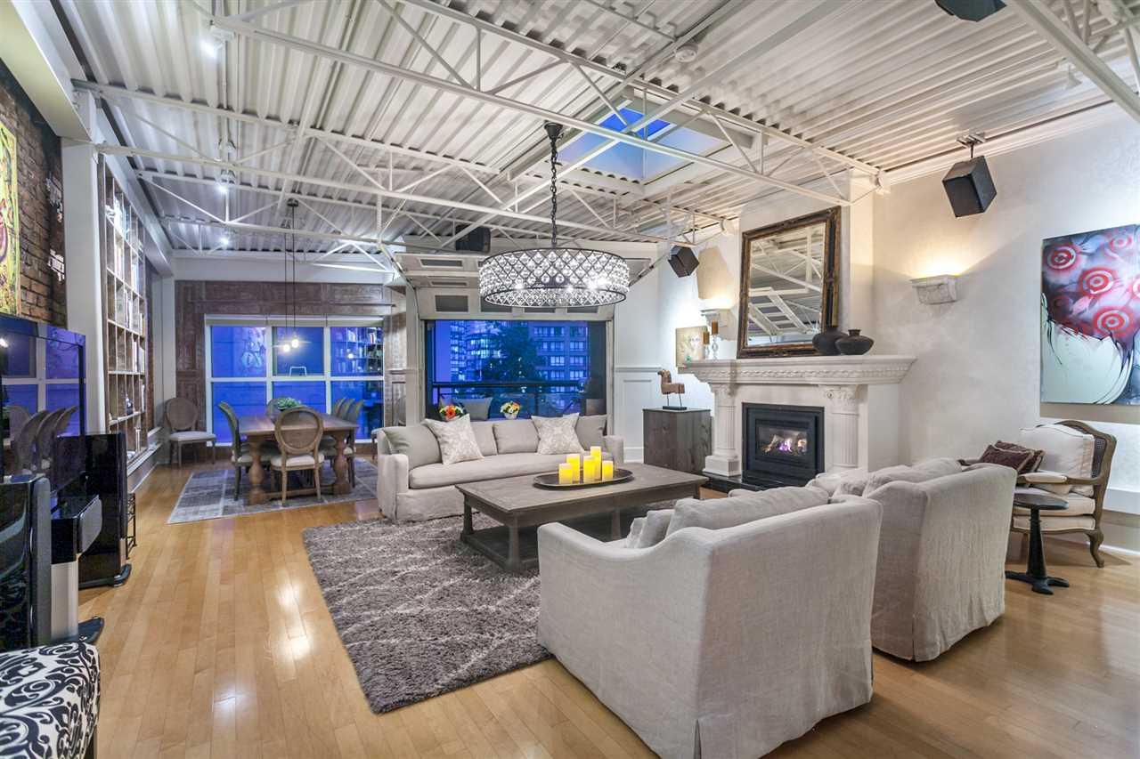Condo Apartment at PH501 1230 HAMILTON STREET, Unit PH501, Vancouver West, British Columbia. Image 1
