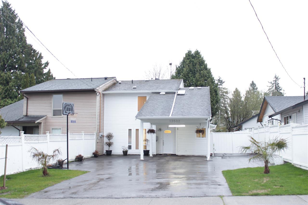 Half-duplex at 13502 79A AVENUE, Surrey, British Columbia. Image 1