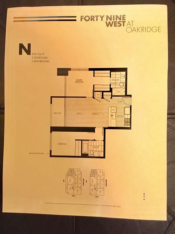 Condo Apartment at 702 6383 CAMBIE STREET, Unit 702, Vancouver West, British Columbia. Image 13