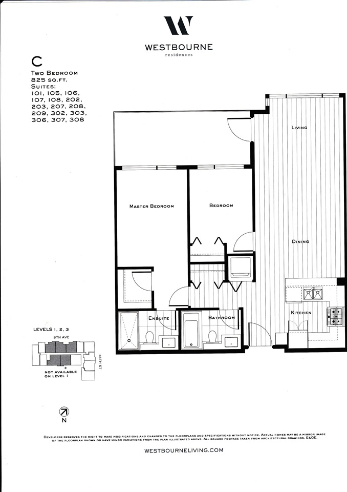 Condo Apartment at 107 1306 FIFTH AVENUE, Unit 107, New Westminster, British Columbia. Image 5