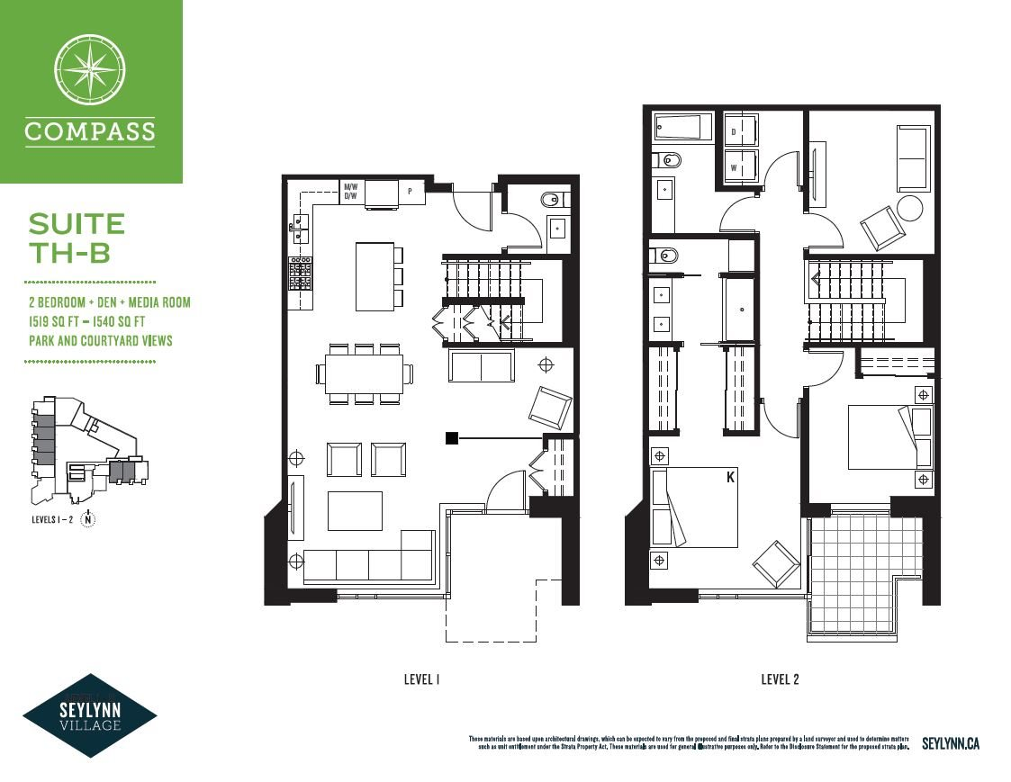 Townhouse at TH2 680 SEYLYNN CRESCENT, Unit TH2, North Vancouver, British Columbia. Image 2