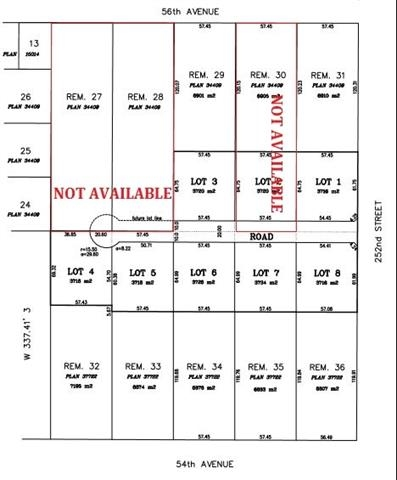 Vacant Land at LT. 3 25181 54 AVENUE, Unit LT. 3, Langley, British Columbia. Image 1