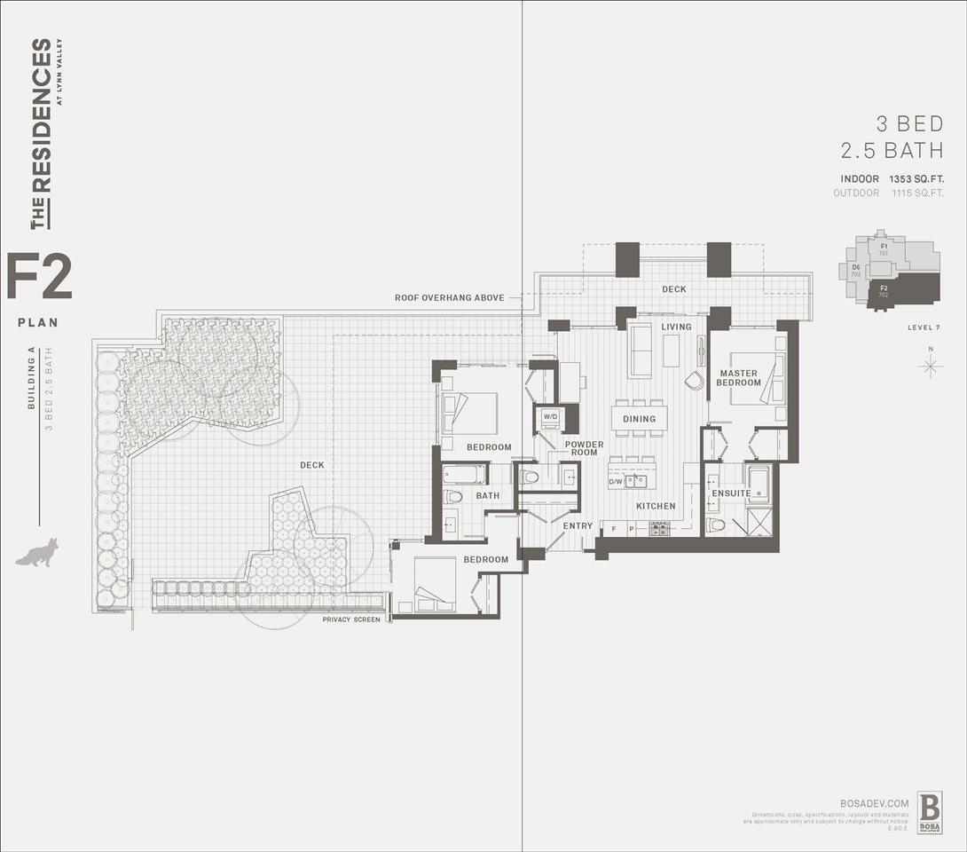 Condo Apartment at 702 1236 27TH STREET, Unit 702, North Vancouver, British Columbia. Image 12