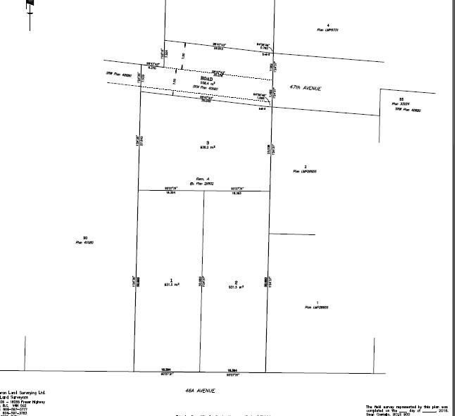Vacant Land at LT.3 20551 46A AVENUE, Unit LT.3, Langley, British Columbia. Image 1