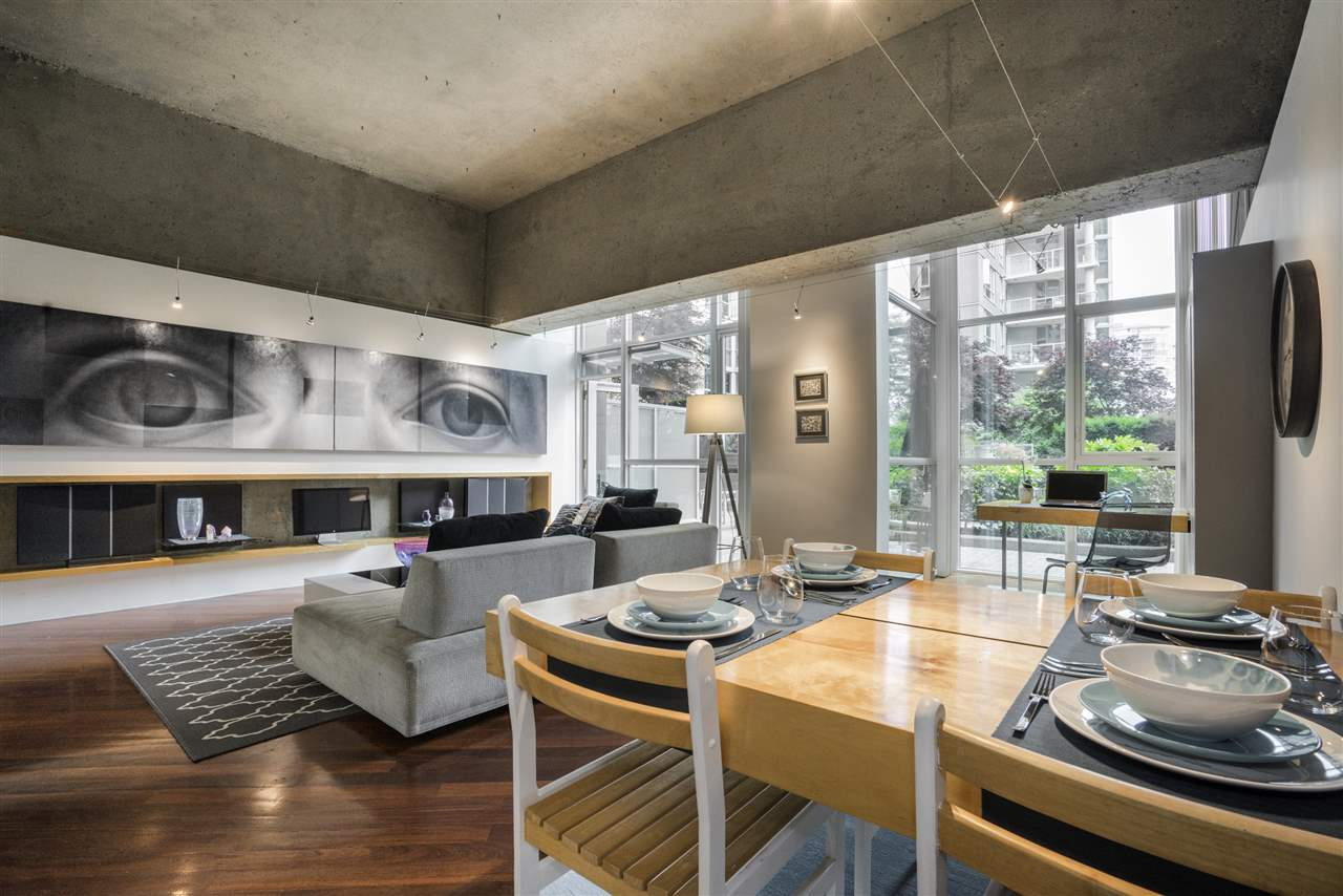 Condo Apartment at 101 1318 HOMER STREET, Unit 101, Vancouver West, British Columbia. Image 1